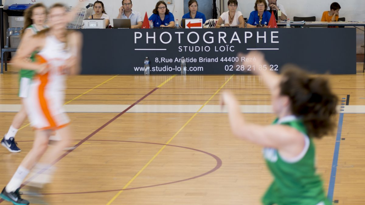 Studio Loïc Photographe partenaire du rezé basket international 2017 (RBI)